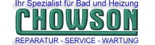 Visitenkarte der Firma Chowson